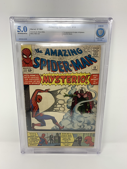 Amazing Spider-Man #13 5.0 Comic Book Graded CBCS 1st Appearance of Mysterio