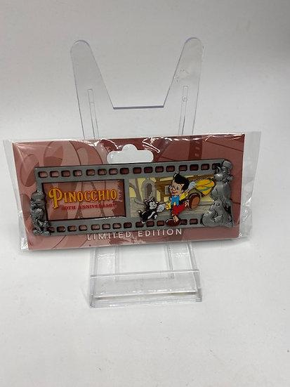 Pinocchio WDI Film Strip 80th Anniversary LE 250 Pin Figaro