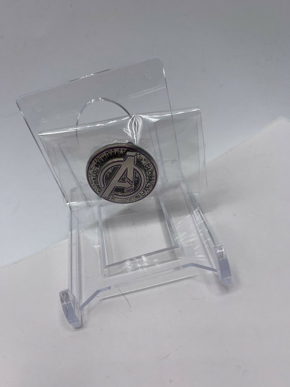 Avengers End Game Marvel Global Security LE Pin World Premiere