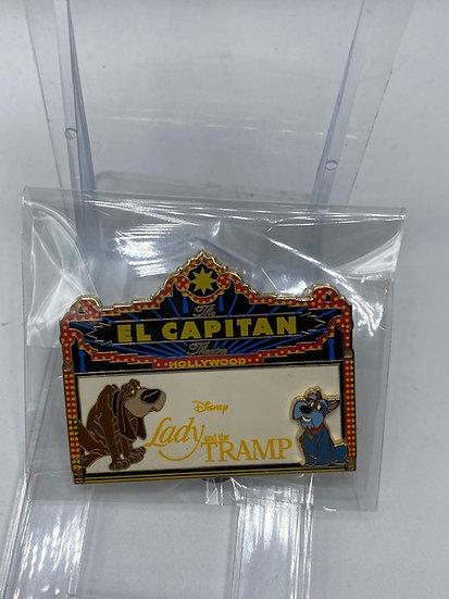 Lady & the Tramp Jock & Trusty El Capitan LE 300 Marquee Pin DSF DSSH