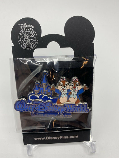 Chip and Dale WDW Where Dreams Come True OE Pin Walt Disney World