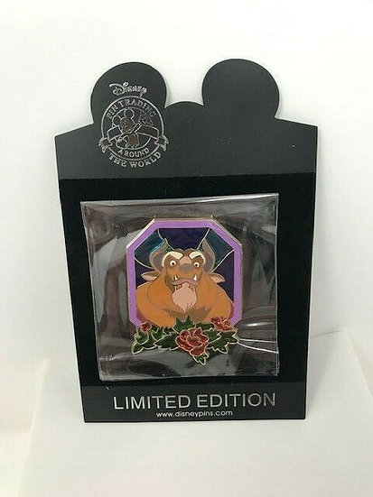 Beauty & the Beast Beast Stained Glass LE 100 Pin BATB Shopping Store