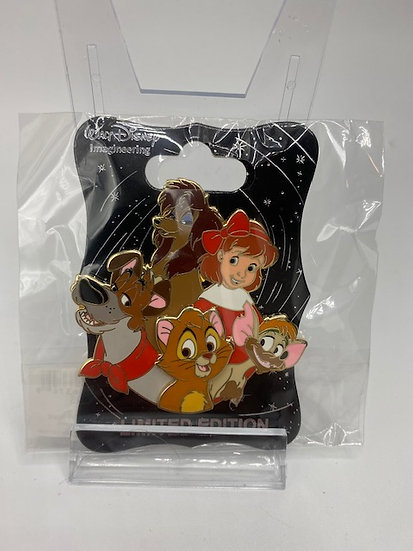 Oliver & Company WDI Charcter Cluster LE 250 Pin Dodger Jenny