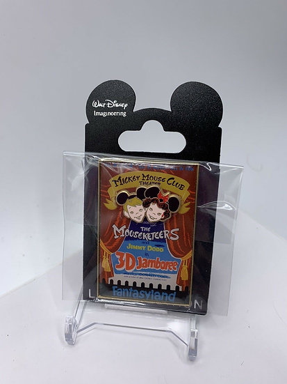 Mickey Mouse Club WDI Disneyland Attraction Posters  LE 300 Pin Jamboree