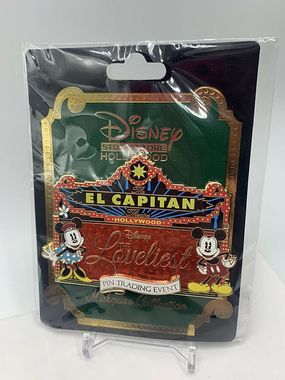 Mickey and Minnie Lovliest Event El Capitan Theatre LE 400 Pin DSF DSSH