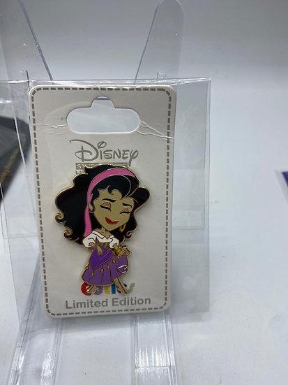 Esmeralda Hero Heroines Cutie LE 300 Pin DSF DSSH Hunchback of Notre Dame