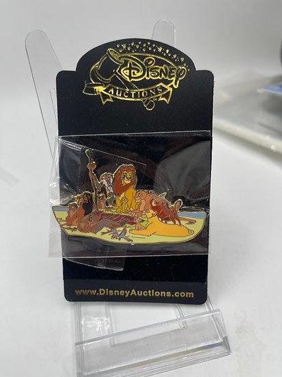 The Lion King New Classics LE 100 Auctions Pin Simba Nala Mufasa Scar
