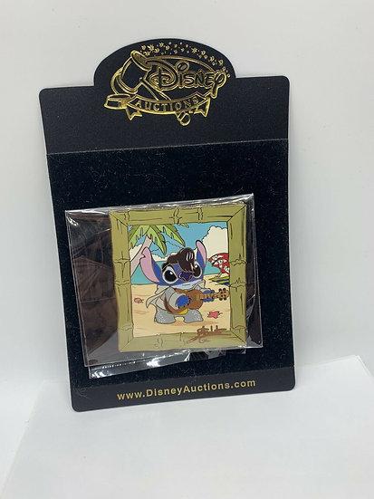 Stitch as Elvis Auctions LE 100 Elisabete Gomes Pin Lilo Frame