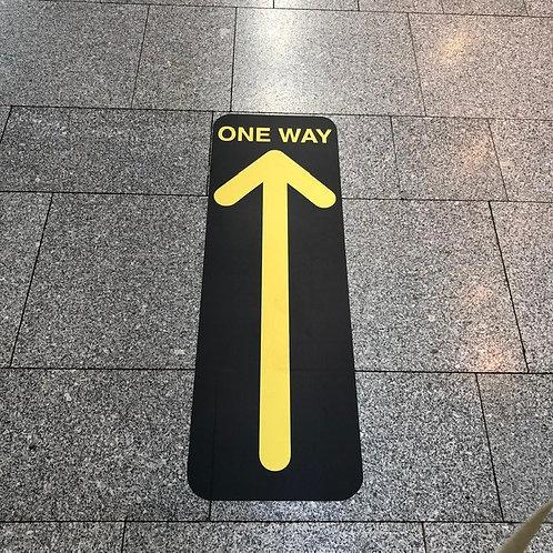 Directional Floor graphic Arrows