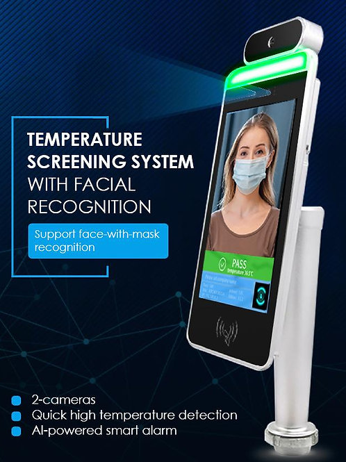 Staff Temperature Screening System with access control and HR platform