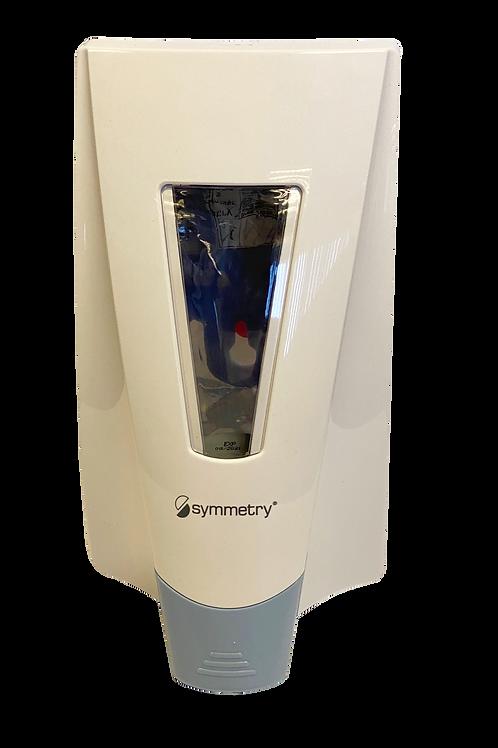 Wall mounted hand sanitiser dispenser pump