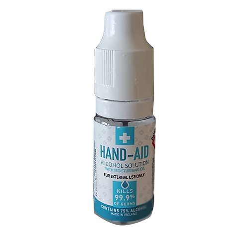 Box of 50 -Hand Sanitiser 10ml bottles -75% alc.