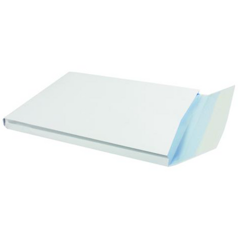 Q-Connect C4 Envelopes Window Gusset Peel and Seal 120gsm White (Pack of 125) -