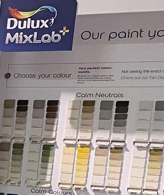 Dulux MixLab paint system