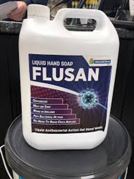 Flusan Anti-bacterial Hand Soap