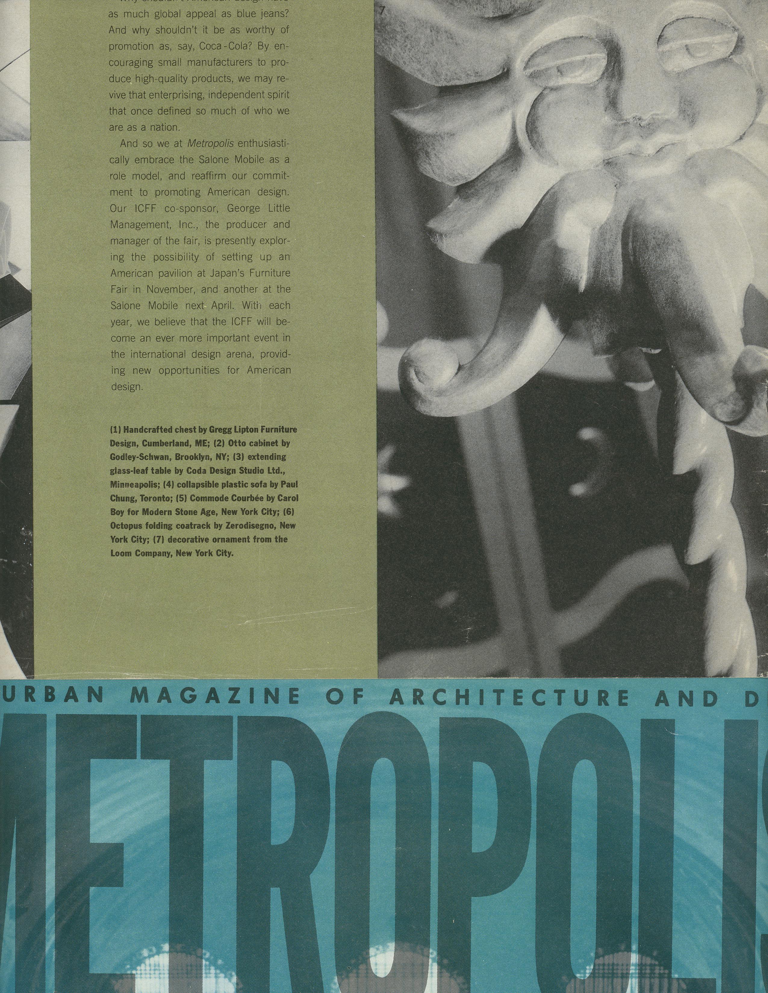 metropolis coattree 92