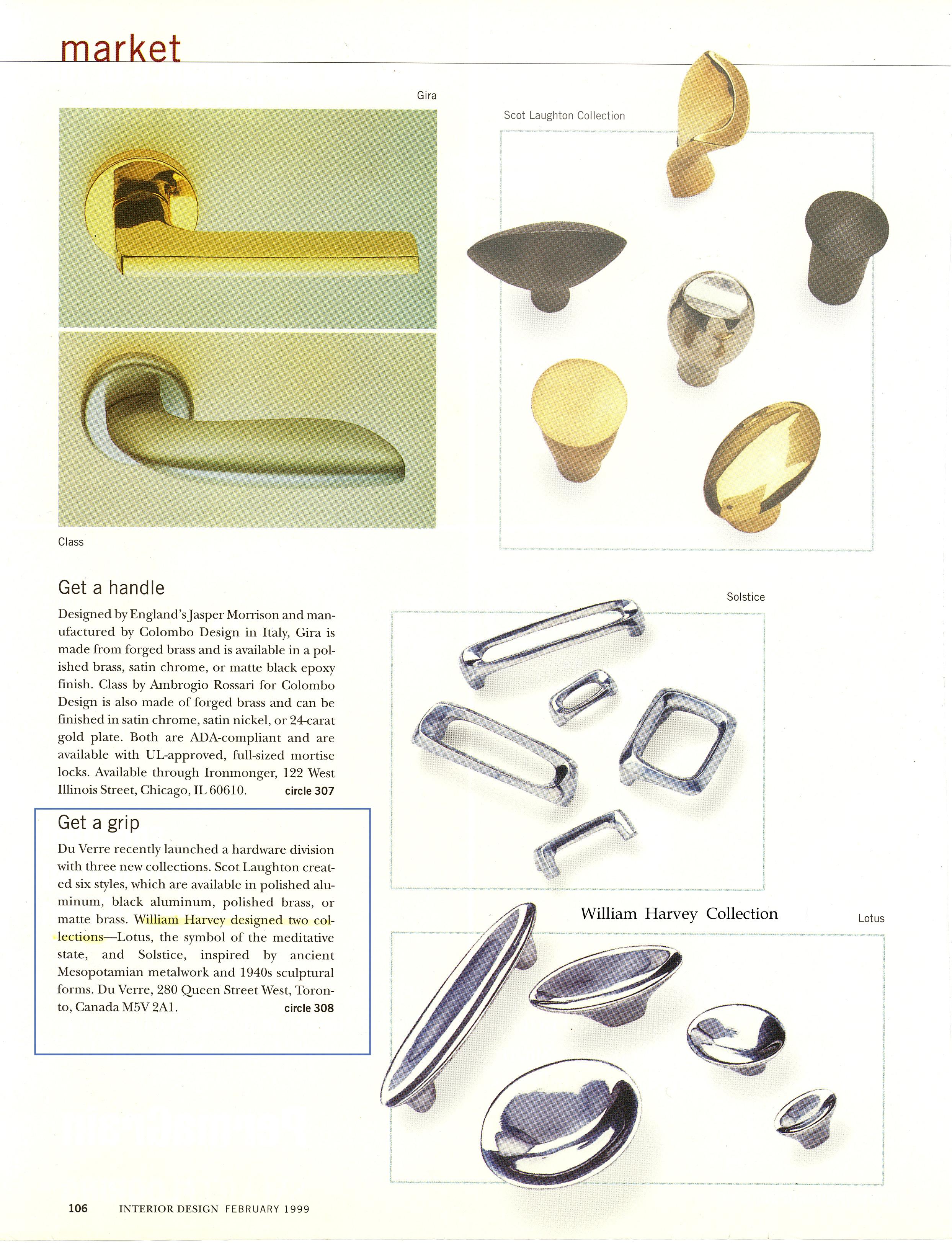 Interior design hardware -