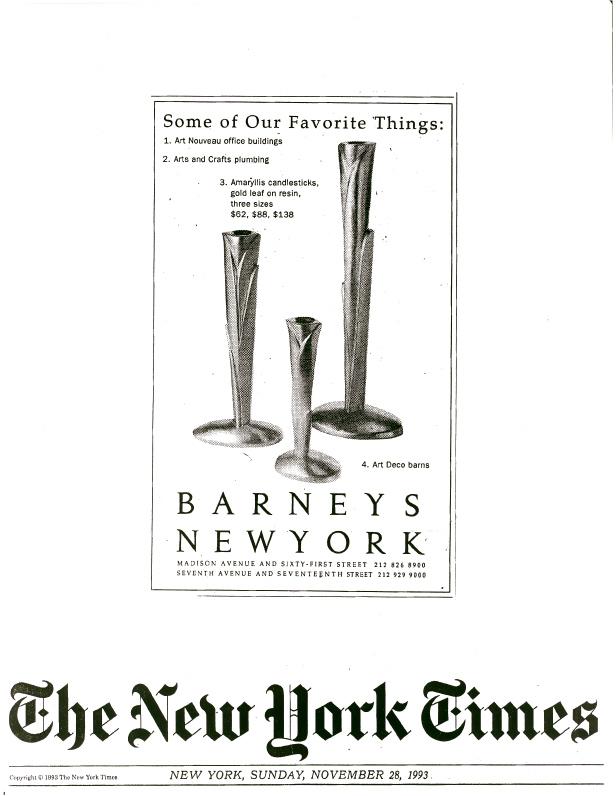 Barney's advt