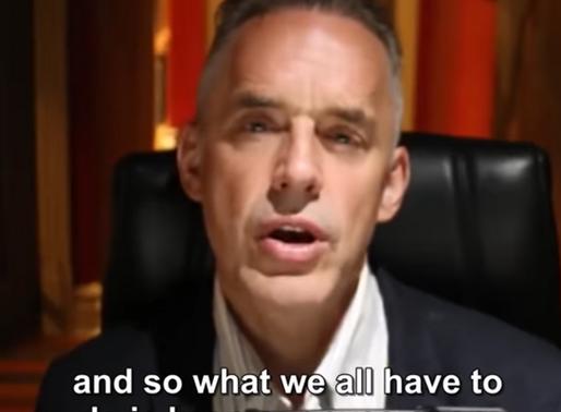 Jordan B. Peterson now promotes listening, great!