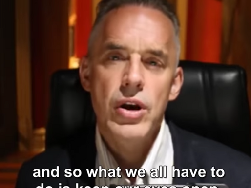 Jordan B. Peterson now promotes listening, great!