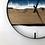 """Thumbnail: 21"""" Life's a Beach Butternut Wood Wall Clock"""