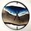 "Thumbnail: 30"" Black Walnut Life's A Beach Live Edge Wood Clock"