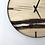 "Thumbnail: 21"" Maple Live Edge Wood Clock ft. Walnut Bars"