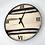 "Thumbnail: 18"" Maple Triple Live Edge Wood Wall Clock"
