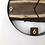 """Thumbnail: 14"""" Black Walnut Live Edge Wood Wall Clock"""