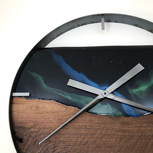 """25"""" Northern Lights Limited Edition Wall Clock"""