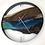 "Thumbnail: 21"" Northern Lights Limited Edition Wall Clock"