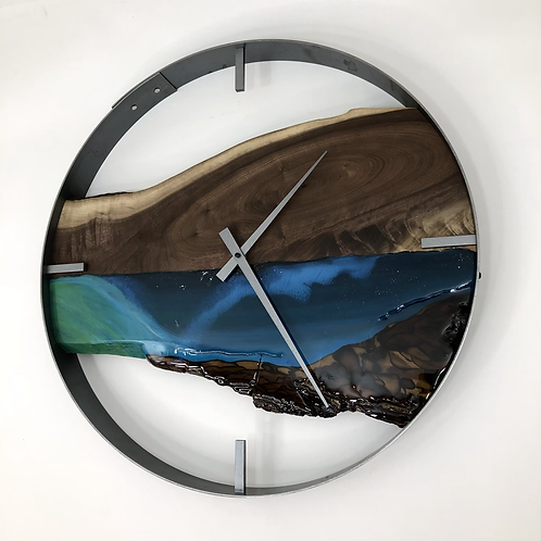"""21"""" Northern Lights Limited Edition Wall Clock"""