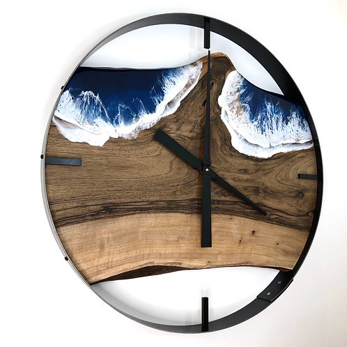 "RESERVED FOR KA // 25"" Life's a Beach Clock"
