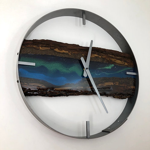 "18"" Northern Lights Limited Edition Wall Clock"