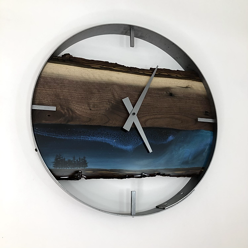"""18"""" Northern Lights Limited Edition Wall Clock"""