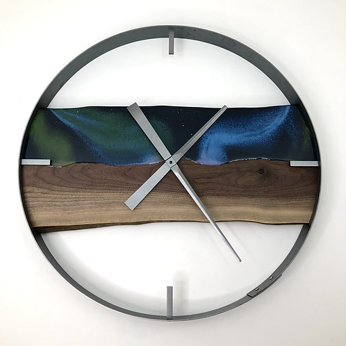 "25"" Northern Lights Limited Edition Wall Clock"