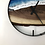 """Thumbnail: RESERVED FOR H // 18"""" Life's a Beach Walnut Wood Wall Clock"""