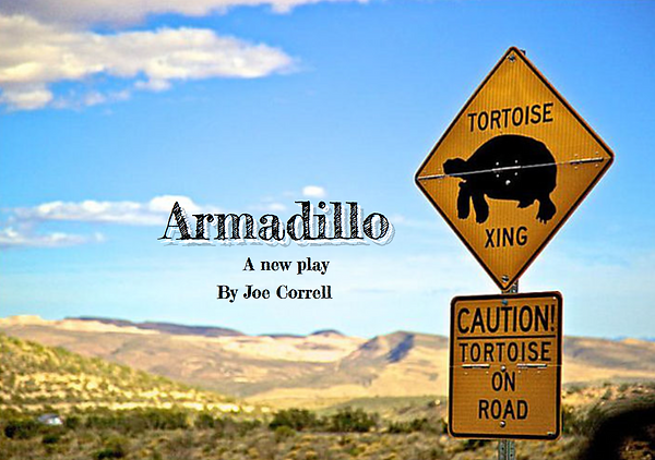 joe correll playwright armadillo play