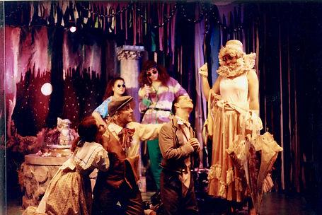 Almost A midsummer night's dream musical Avante Garage theater nashville los angeles