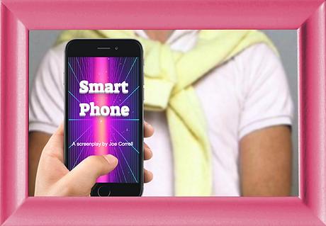 Smart Phone playwright joe correll scree