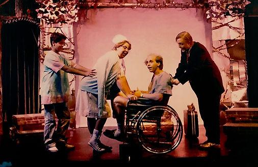 Avante Garage Musical Once Upon A Rainbow Michael Bouson Joe Correll Maggie Wirth Stephen Henry
