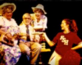 Avante Garage play Soutern Exposures michael Bouson Joe Correll Maggie Wirth Heather Fierabend