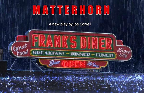 joe correll playwright play Matterhorn