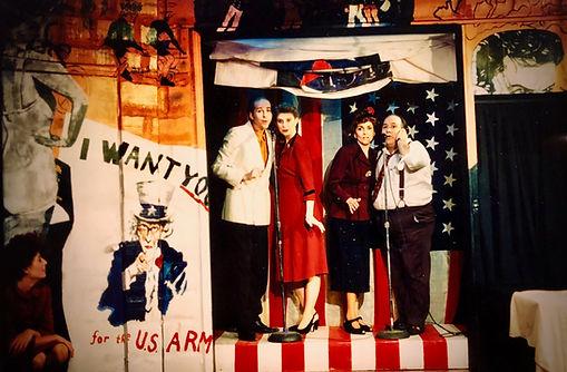 Avante Garage Theater USO 1945 musical Michael Bouson Joe Correll  Stephen Henry Katie Barr Kathy Shepard jamey Green
