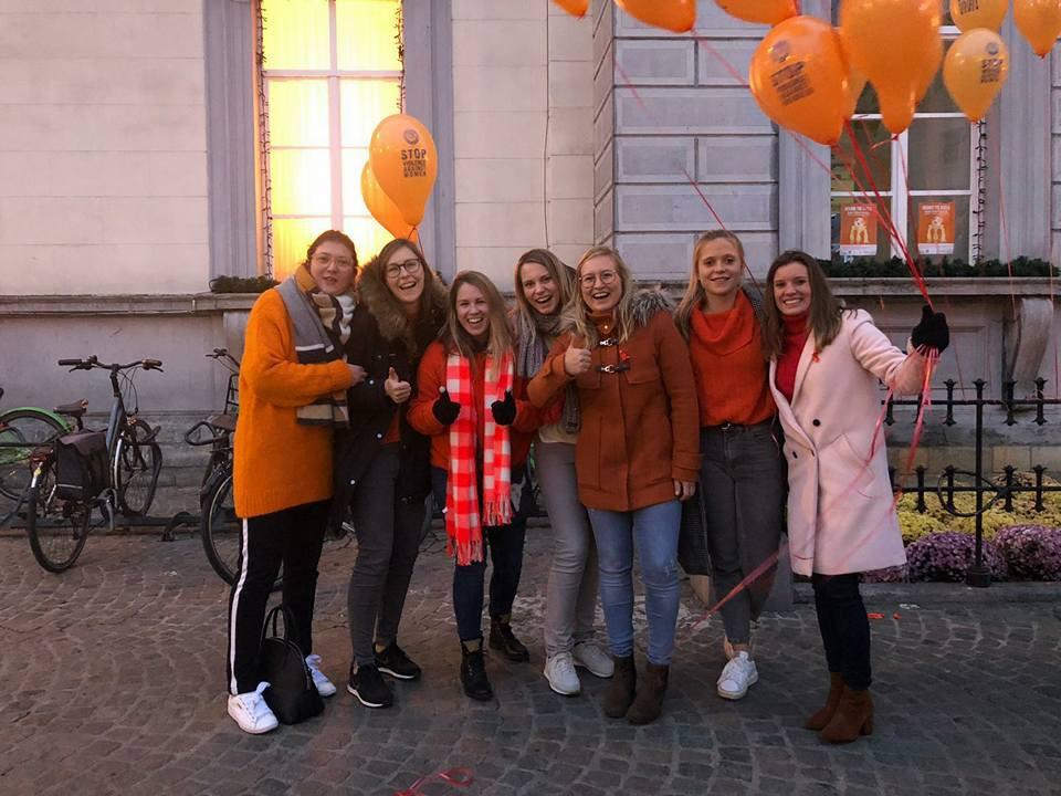 Orange the world, 2018