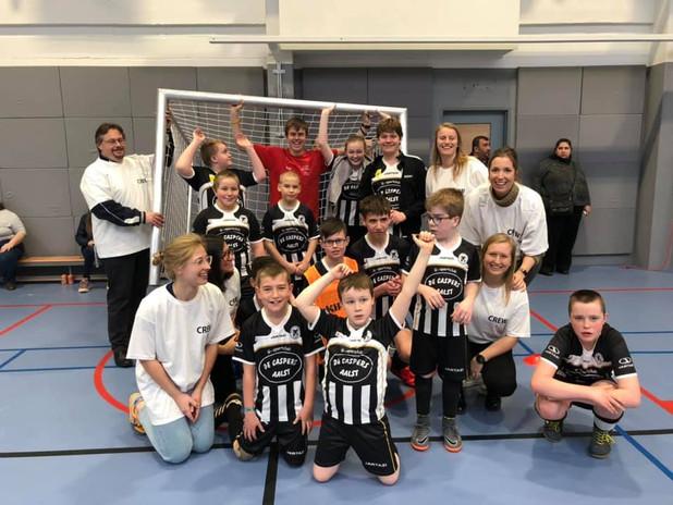 Sporten met ons goed doel: De Caspers vzw, 2019
