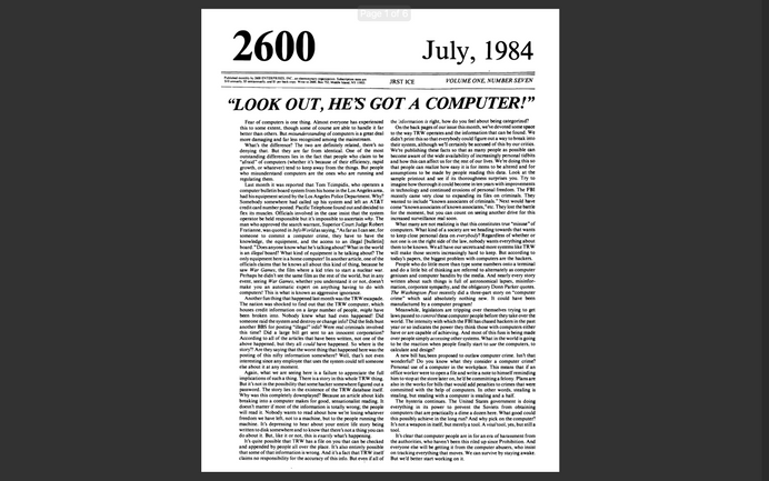 2600 - Edição No 07 - Julho 1984