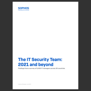 2021 and Beyond - SOPHOS Security