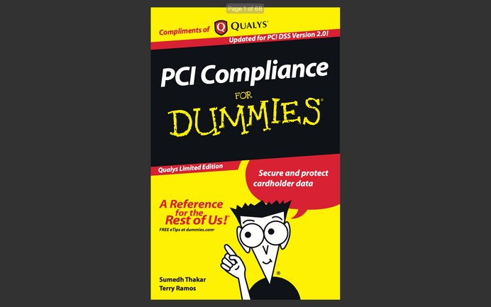 eBook: PCI Compliance for Dummies (2011)