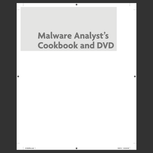 eBook: Malware Analyst's - Tools and Techniques for Fighting Malicious Code (2011)